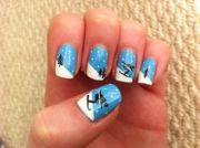 1000 ski nail art