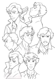 1000+ images about sherlock cartoon on Pinterest