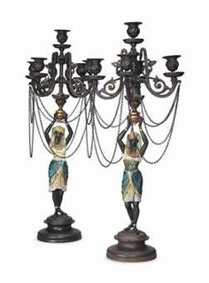 Lamps / Candelabras / Candlesticks / Oil Lamps on