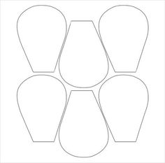 8 Best Images Of Cuttable Flower Petals Template Printable