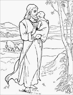Historia de Jonás. Dibujo para colorear de toda la