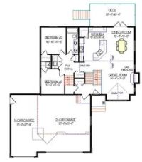 Bi Level Home Entrance Decor   Bi Level House Plans with ...