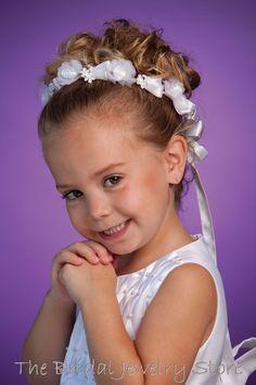 Flower Girl Hair Updo Flower Girl Dresses & Hairstyles