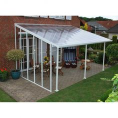 Weinor Terrazza Glass Awning Architecture Awnings & Sun Roofs