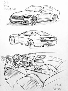 Learn how to draw, Muscle cars and How to draw on Pinterest