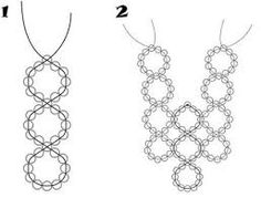 1000+ images about Abalorios collares on Pinterest