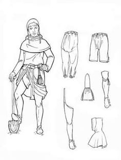 1000+ images about Romanesque Fashion (700-1200) on