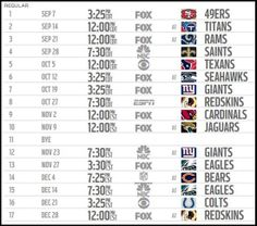 Dallas Cowboys Schedule 2015: The 2015 NFL schedule is