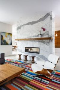 Marble Fireplaces on Pinterest