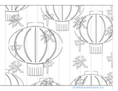 1000+ images about Chinese Craft Templates on Pinterest