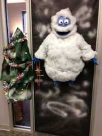 2010 LEC door decorating contest - Bonnie's Polar Express ...