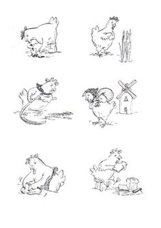 1000+ images about The Little Red Hen on Pinterest