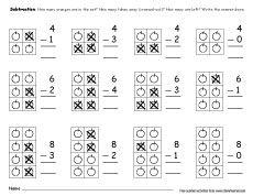 Free number scramble activities for preschool kids #