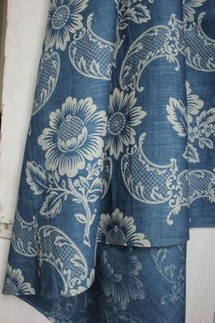 Details About Antique French 18th Century Indigo Blue Resist Quilt