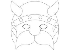 Viking ship template-kids to make shields to learn about