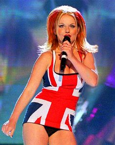 Spice Girls at BRIT Awards 1997