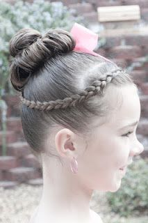 French Braid Hairstyle Tutorial Dance Comp Review Article