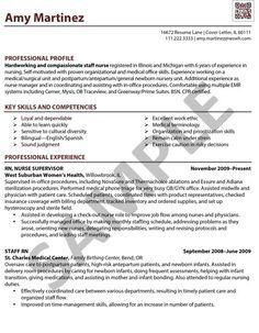 Resume Sample For Nurse Registered Nurse Resume Sample Format Easy