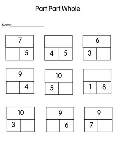Mixed up number charts including 1-100 and 1-20. Great for