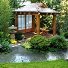 Traditional Japanese Courtyard Mar Pinterest Love The