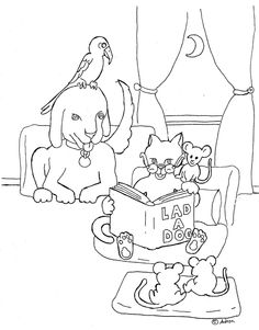 Coloring Pages for Kids by Mr. Adron: Printable Eagle