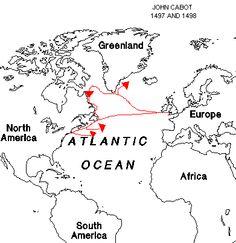 Like Christopher Columbus, John Cabot hoped to discover