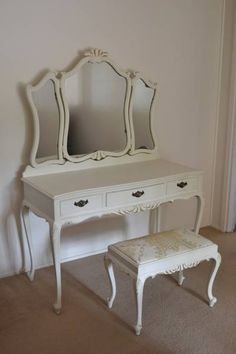 vanity chair pottery barn raynor ergohuman 1000+ images about queen anne furniture on pinterest | anne, and ...