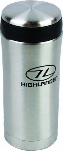 highlander taza para acampada color plateado