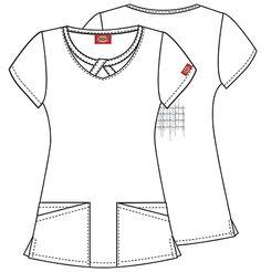 Vintage 1950's Dress // 40s 50s White Uniform // Nurse