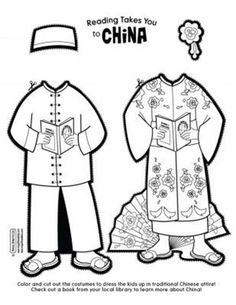 Italy paper doll clothes (link has boy and girl pattern