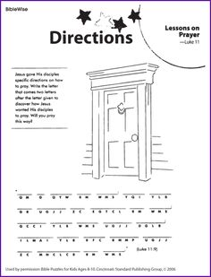 1000+ images about Sunday School work sheets on Pinterest