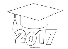 » Printable Graduation Cap For Bulletin Board Nuttin' But