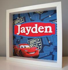 Disney Cars Personalized Children S Decor Boy Room Art Kid