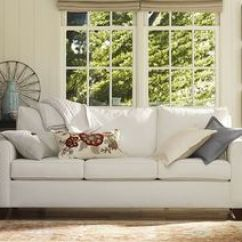 Crate And Barrel Davis Sofa Slipcover Sofas Upholstery Cameron Collection   Pottery Barn Great Room ...