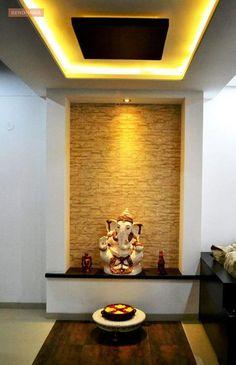 Puja Mandir In Living Room Pooja Room Designs in Hall Pooja Room