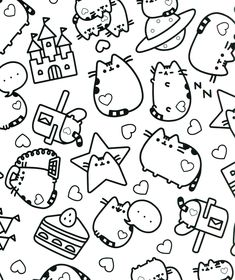 32 Page Happy Snacks Spiral Perforated Coloring Book One