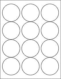 Free Printable Jelly Jar Labels, round, 2.5