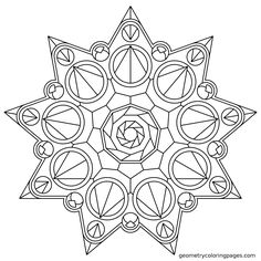 1000+ images about Mandalas to color on Pinterest