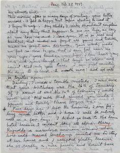 Frida Kahlo • Love letter to Nickolas Muray, 27 February 1939
