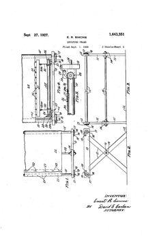Quilting frame plans: build quilting frame, Assembling a
