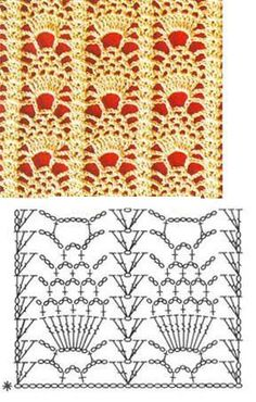 russian lace crochet scarf diagram apache quad bike wiring 1000+ images about stitch patterns on pinterest | stitches, and ...