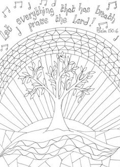 Free Printable Psalm 23 Doodle Devotional Coloring Pages