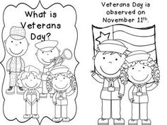 My Veteran's Day Book {Freebie} by Haley O'Connor