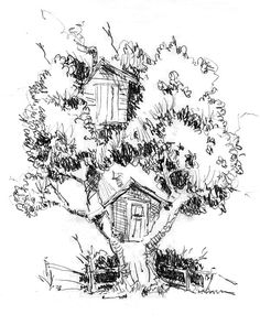 1000+ images about Treehouse _ Drawing on Pinterest