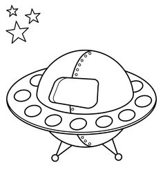Activity: Free, printable dot-to-dot space activity, 5