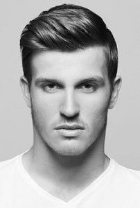 Short Hairstyles For Men With Thick Hair Men's Side Part Haircut