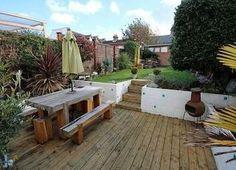 Split Level Patio Home Out Door Rooms Pinterest Gardens