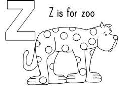 Top 10 Letter 'Z' Coloring Pages Your Toddler Will Love To