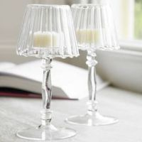 Tea Light Candle Holder Table Lamps ART DECO Style with ...