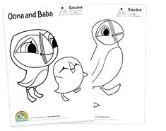Colouring sheets, Rocks and Printables on Pinterest